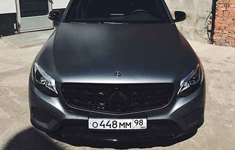 Mercedes GLC - AMG Grey Satin