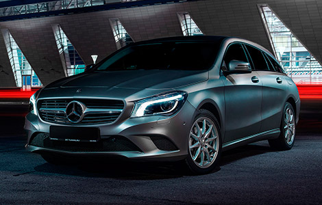 Mercedes CLA Stooting brake